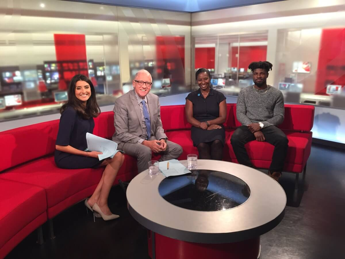 Ntantu on BBC Red Couch for Leeds 2023