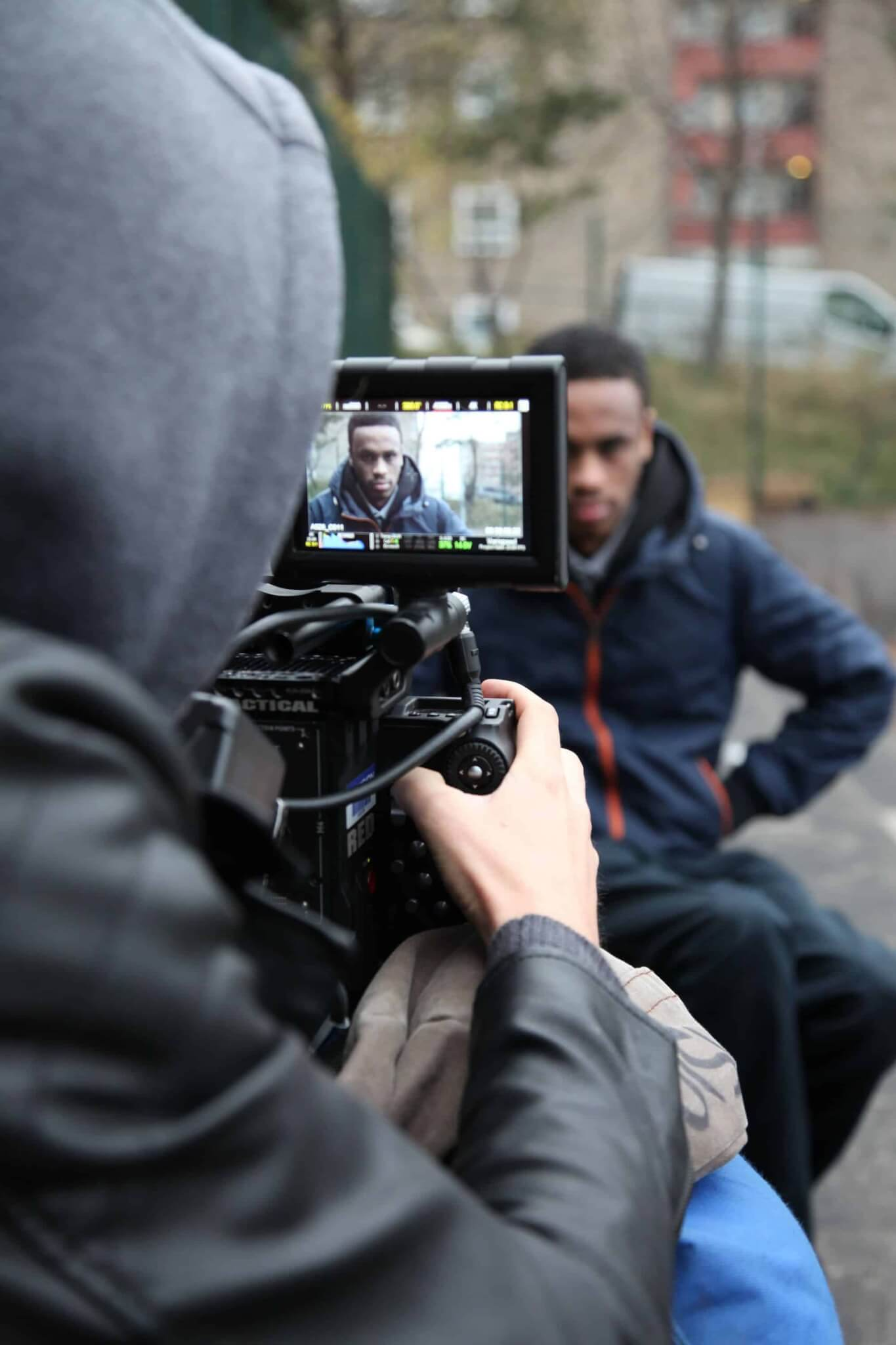 Filming the Writing Britain Short Film