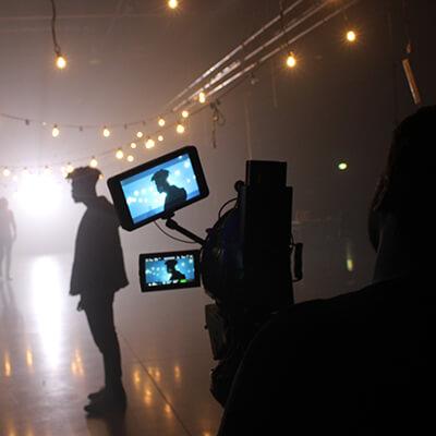 Leeds 2023 still shot of film set
